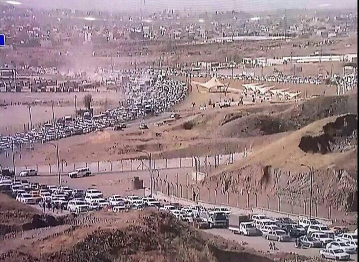 Kurds Fleeing Kirkuk